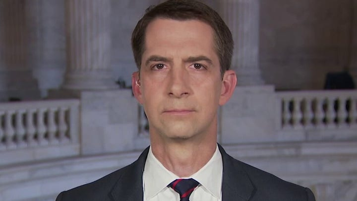Sen. Cotton: We must make it clear US will come to Taiwan's aid