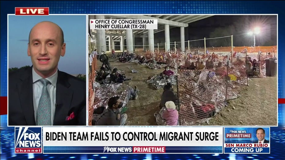 Stephen Miller blasts Mayorkas: Open borders policy making US 'complicit' with groups 'profiting off misery'
