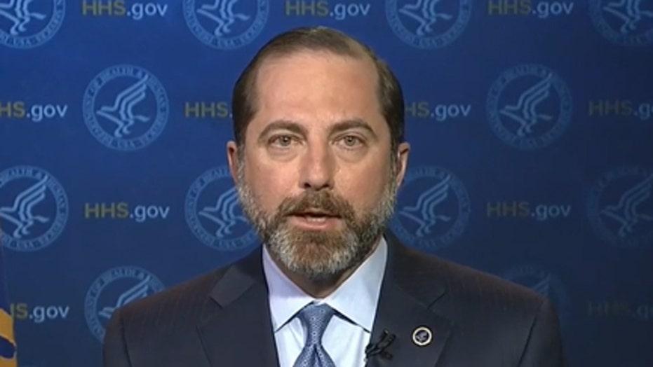 HHS Sec. Azar on coronavirus: 'Radically expanding' capacity to test in U.S.