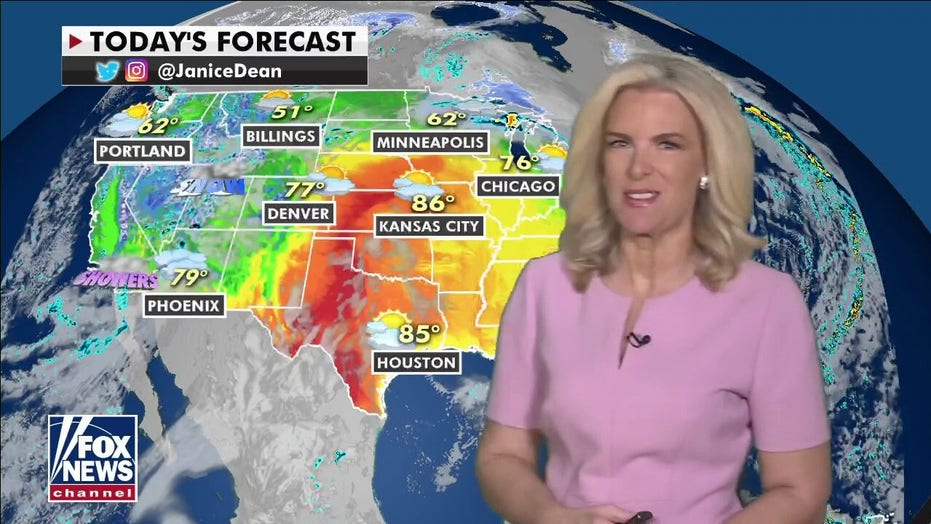 National weather forecast: West facing rain, mountain snow