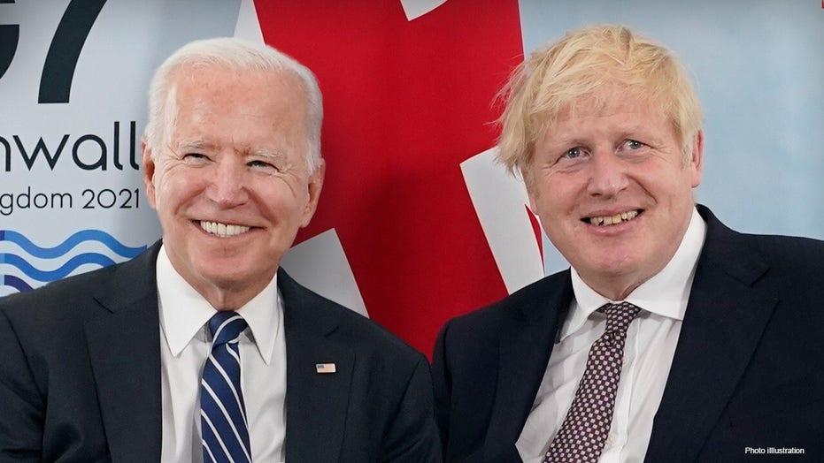 Boris Johnson tried to 'woo' Biden with 'asinine' leftist rhetoric: Douglas Murray