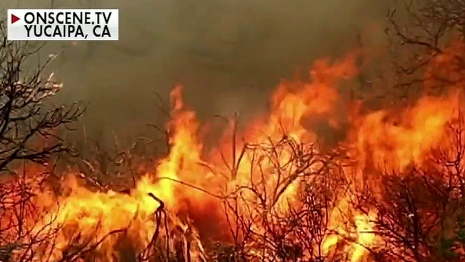 Wildfires burn out of control across West Coast