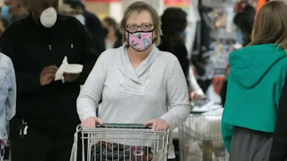 New study: 130k lives could be saved if majority of Americans wear masks this winter<br>