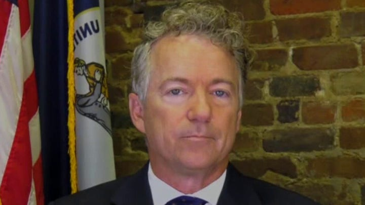 Sen. Rand Paul blasts power-hungry HHS Secretary Becerra to his face