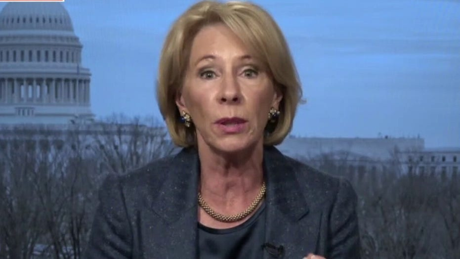 DeVos blasts 'tragic' school closings, calls for reopening to help 'most vulnerable'