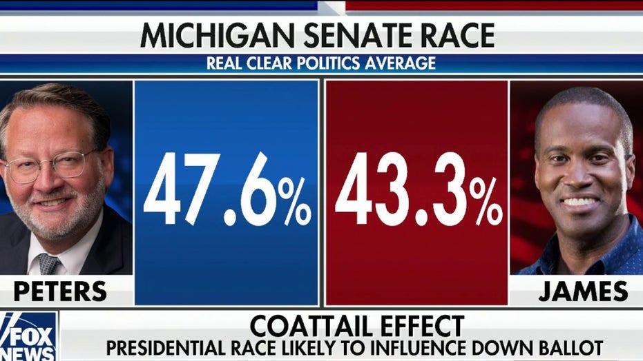 Detroit News backs John James, Republican challenger to Democrat Gary Peters, in Michigan Senate race