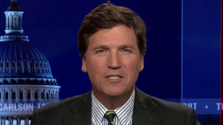 Tucker mocks 'truly heroic' Texas Democratic fugitive