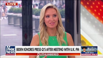 McEnany on reporters upset with Biden: 'Where were you when he was hiding in the basement?'