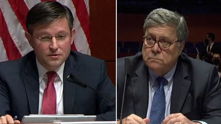 Rep. Johnson asks AG Barr about political bias within the Justice Department