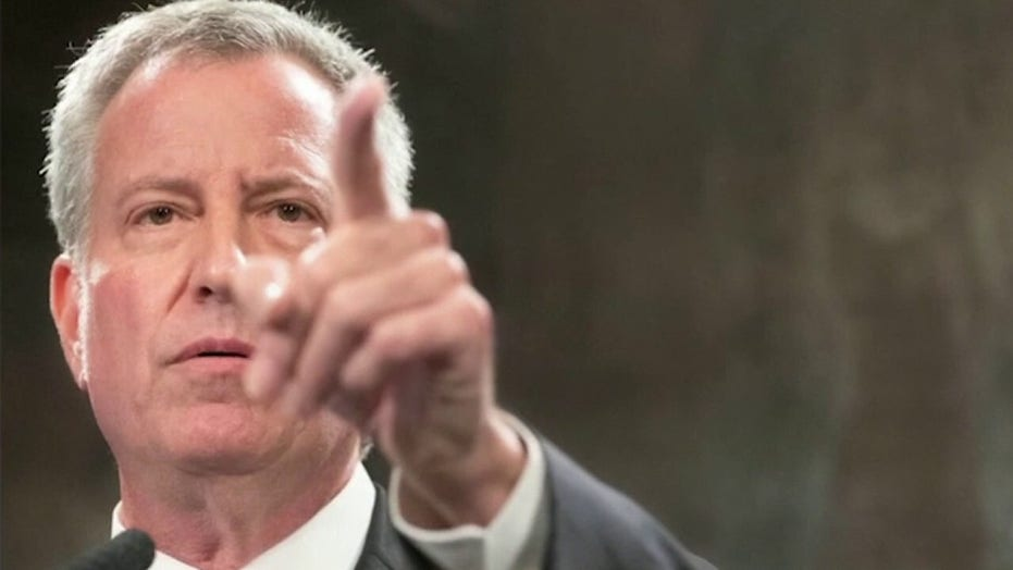 Judge Napolitano blasts De Blasio: 'Liberal mantras' resulted in horrific spike in crime