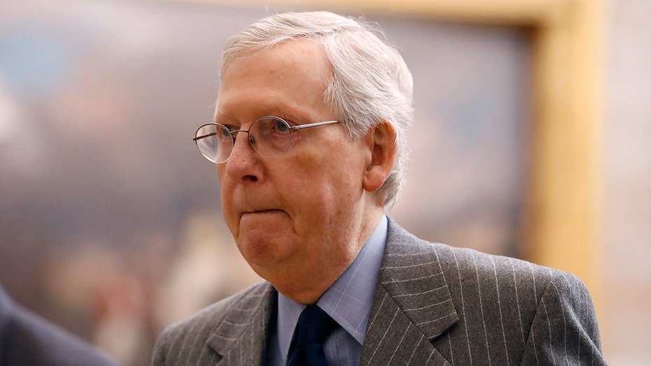 Mitch McConnell tells GOP senators he doesn't have the votes to block impeachment witnesses