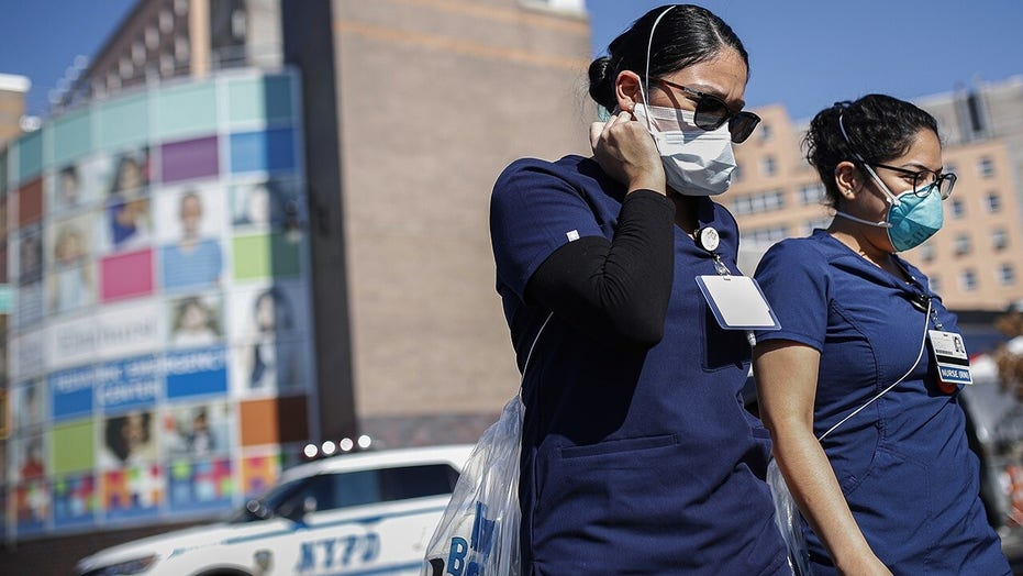 Coronavirus hospitalizations doubling at slower rate in NYC