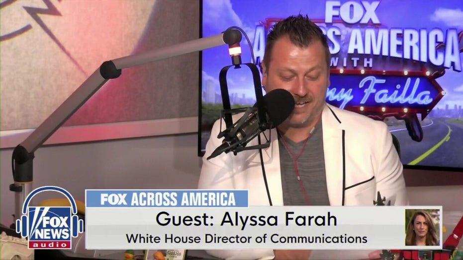 WH Director Of Communications Alyssa Farah & Jimmy Failla