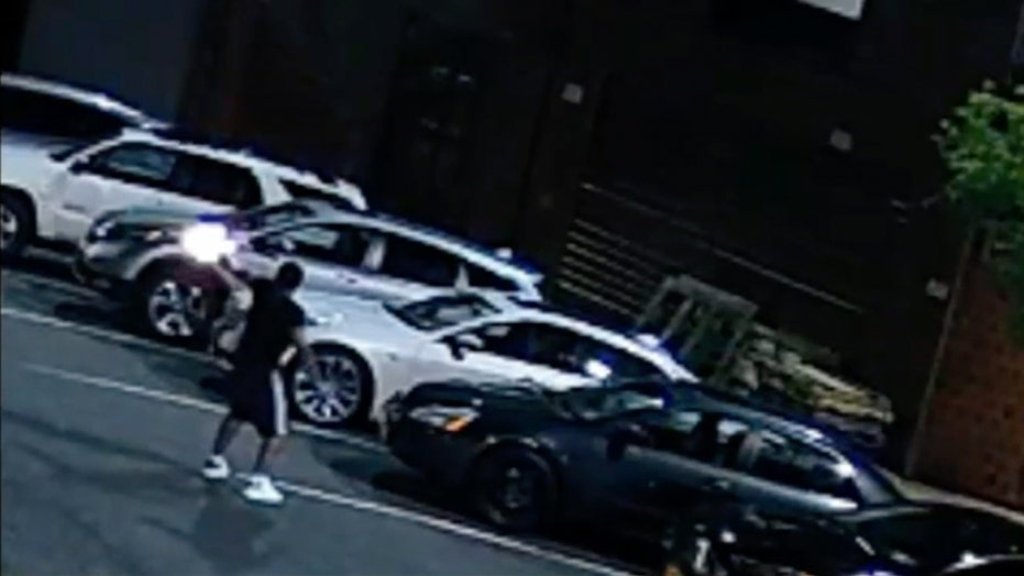Brooklyn gunfight captured on surveillance video