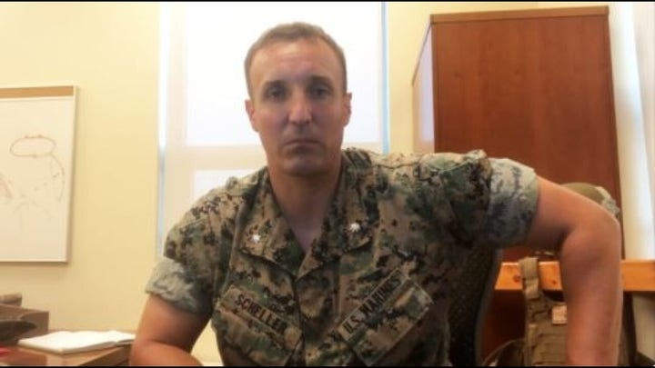 Marine officer who went viral for Afghanistan rant faces military hearing