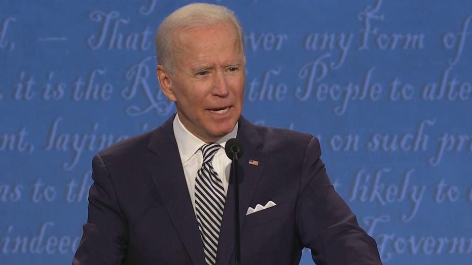 Biden pledged not to declare victory until election is independently certified