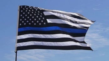 Politifact: 'Mostly true' that pro-police thin blue line flag is 'anti-Black Lives Matter'