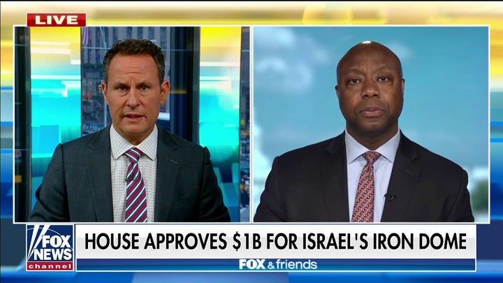 その. ティムスコット: 'I can't believe' Israel Iron Dome funds would be rejected by some House members