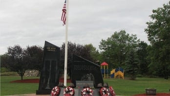 9/11 Memorial flagpole in New York village torn down