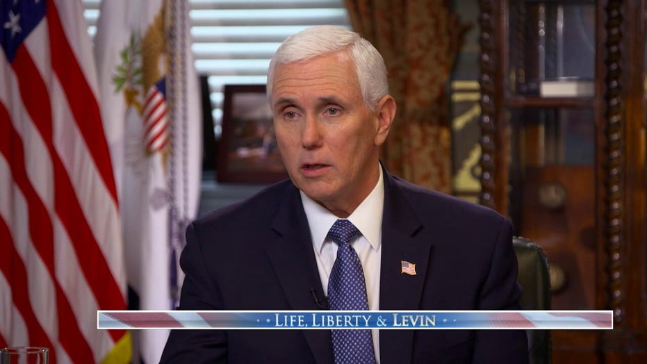 Vice President Pence joins Mark Levin on 'Life, Liberty & Levin'