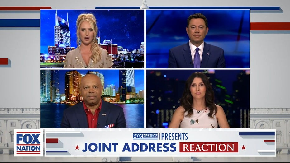 'Platitudes and political theater:' Tomi Lahren and All-Star panel react to Biden's address to Congress
