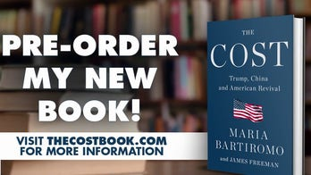 Maria Bartiromo previews her book 'The Cost – Trump, China and American Revival'