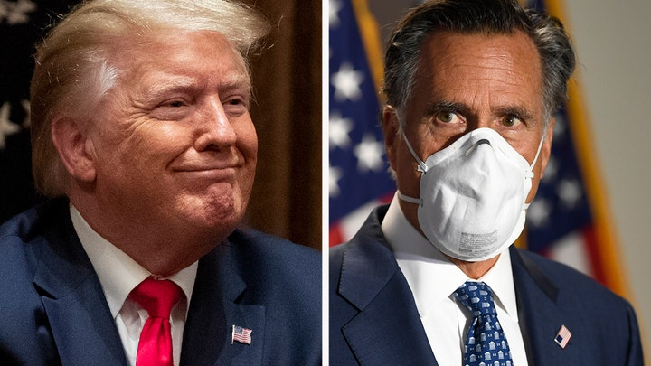Romney: Trump will be re-elected in November, GOP to maintain control of Senate