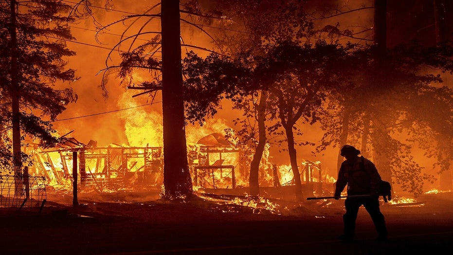 California's Dixie Fire now third largest in state history