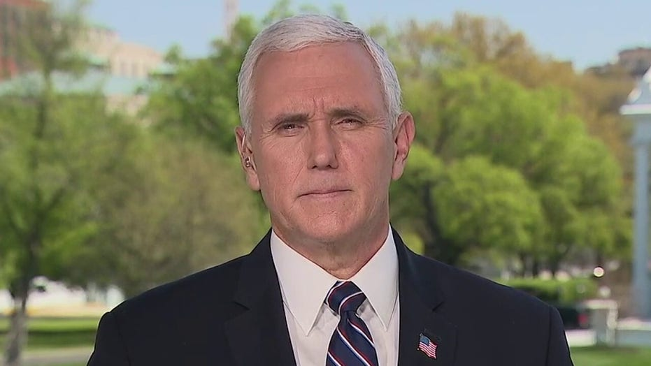 Vice President Pence tells Sean Hannity he's inspired by Americans rallying to fight COVID-19