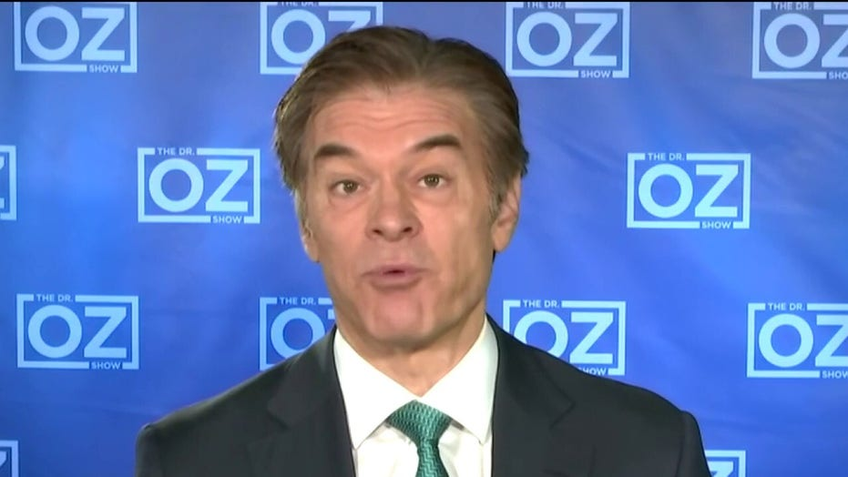 Dr. Oz: Stop saying hydroxychloroquine data is anecdotal, that's not true