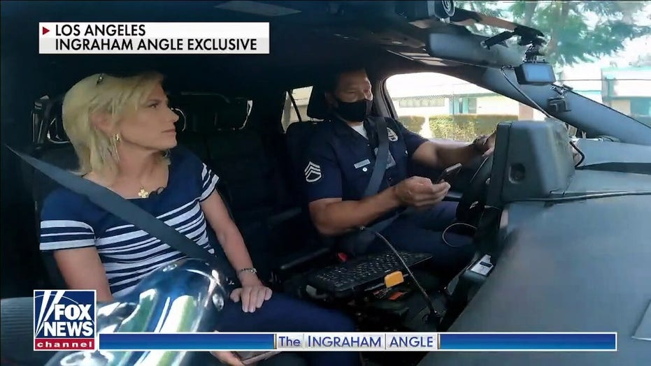 Laura Ingraham in L.A.: Special LAPD unit making impact on gang violence, crime