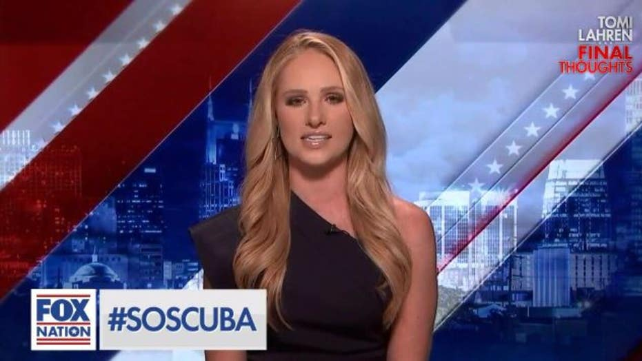 Tomi Lahren: Cuban protests should remind Dems that 'no one flees to socialism, only from it'
