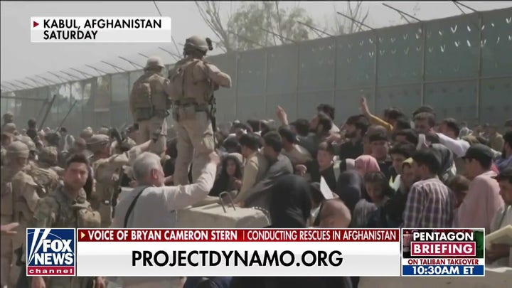 Veterans risking life to rescue desperate Afghans amid Taliban takeover