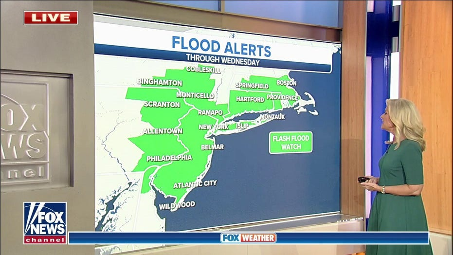 Nor'easter hits East as more stormy weather forecast for West