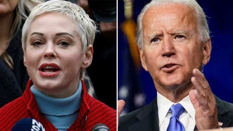Rose McGowan blasts Hillary Clinton over birthday tweet: We're 'blowing out YOUR candle'