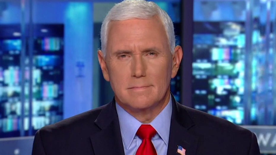 Pence warns of Biden policies' consequences: 'Weakness arouses evil'