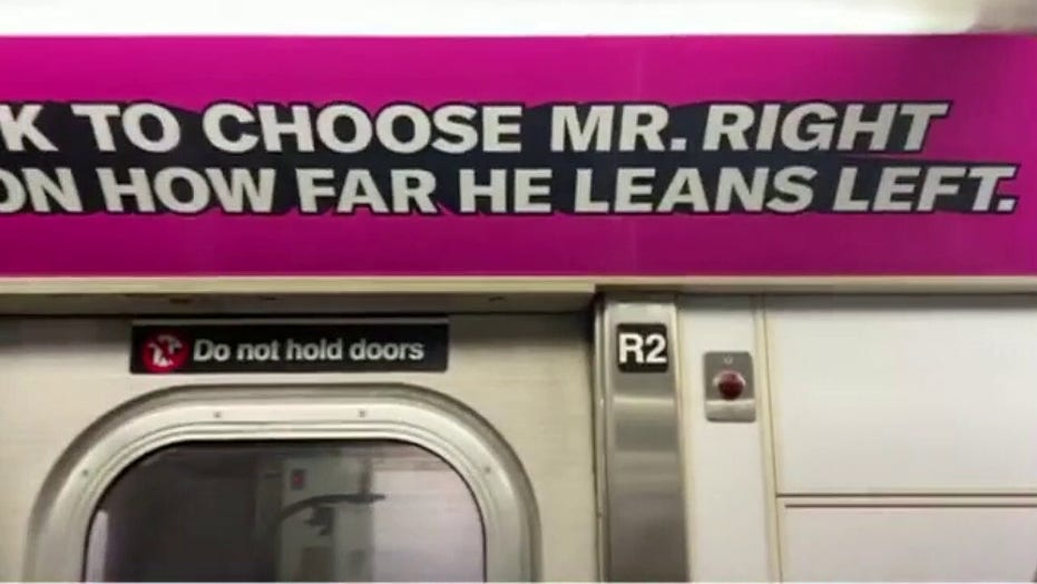 NYC ads suggest not dating anyone conservative