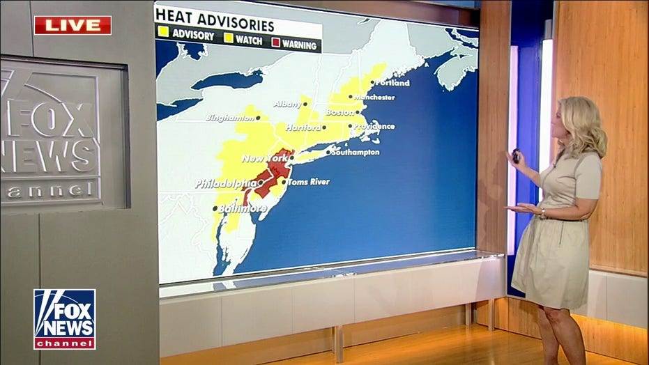 Northwest to cool off as Northeast remains hot
