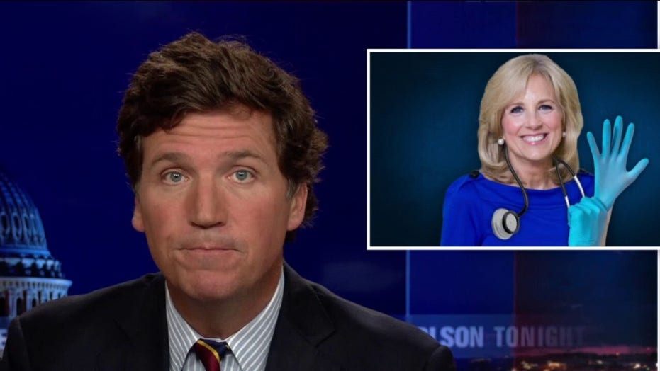 Tucker: Don't worry, Dr. Jill is on the way