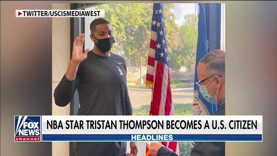 Boston Celtics star Tristan Thompson becomes US citizen