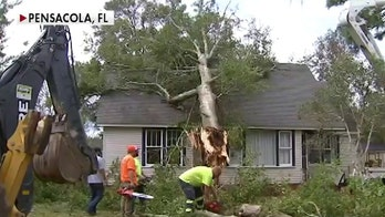 Cleanup efforts are underway in Pensacola, Fla., after Hurricane Sally slams Gulf Coast