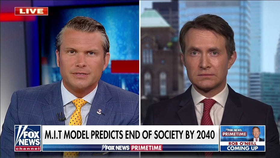 Douglas Murray responds to research saying civilization will end this Century: 'Futurology' has flawed history