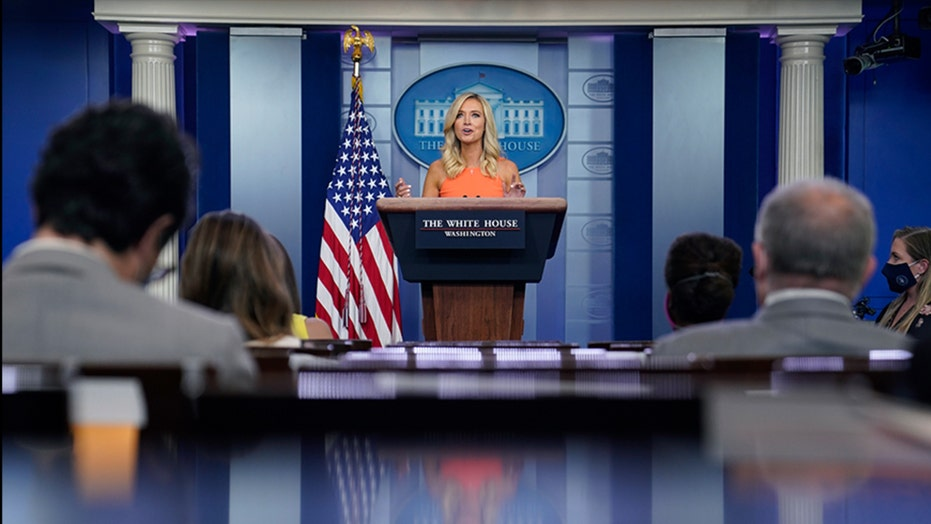 McEnany: Trump stands on the side of preserving history