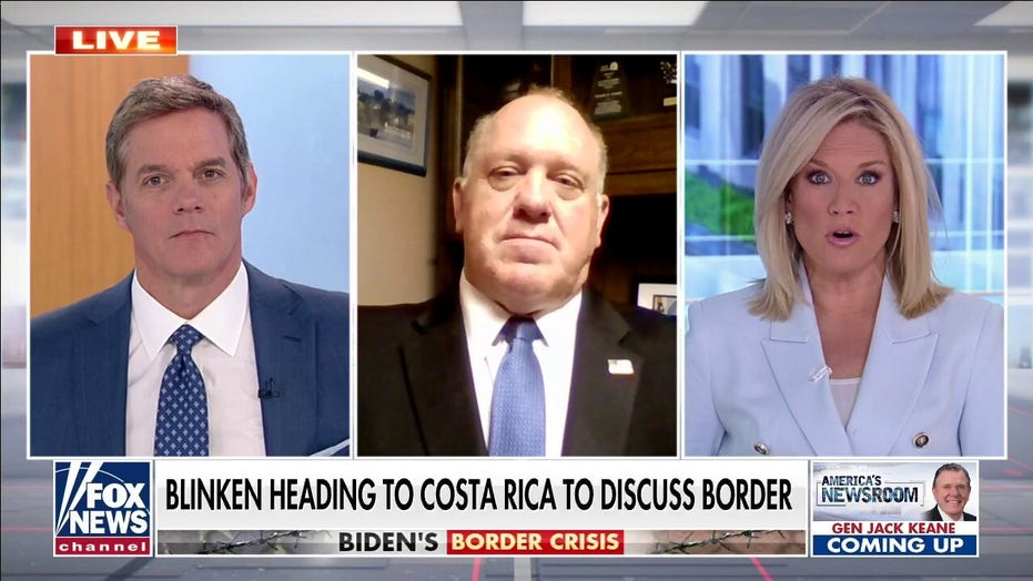 Homan rips 'pure ignorance' of Biden admin on border crisis: 'All they have to do' is reverse policies