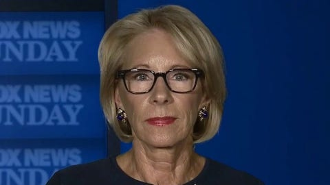 Secretary Betsy DeVos on the challenge of reopening America's schools amid COVID-19