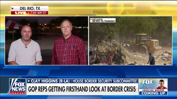Congressmen Higgins, Biggs travel to border to probe 'legal mechanisms' used to process, disperse migrants