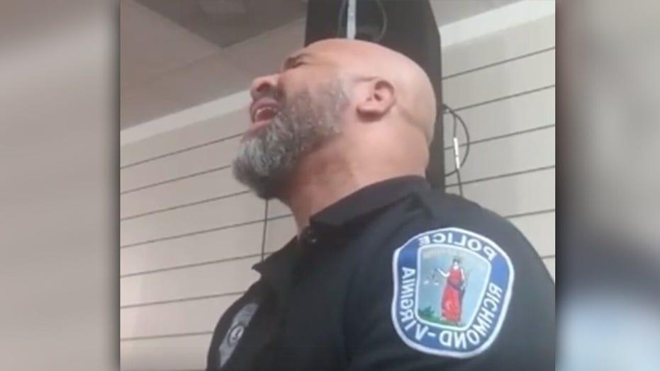Virginia police officer's gospel performance goes viral