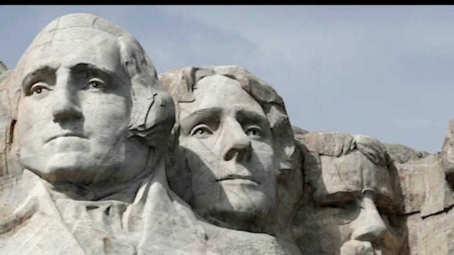 Is Mount Rushmore next? Gov. Noem won't stand for 'radical rewriting of history'
