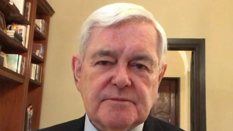 Gingrich: Pelosi-led Trump impeachment effort driven by 'fear' he could win in 2024