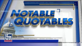 Notable Quotables for Friday, Jan. 22